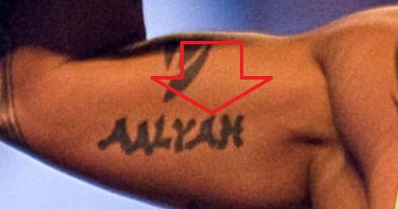 Rey Daughters Name Tattoo