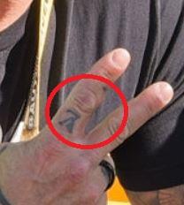 Rey finger Tattoo