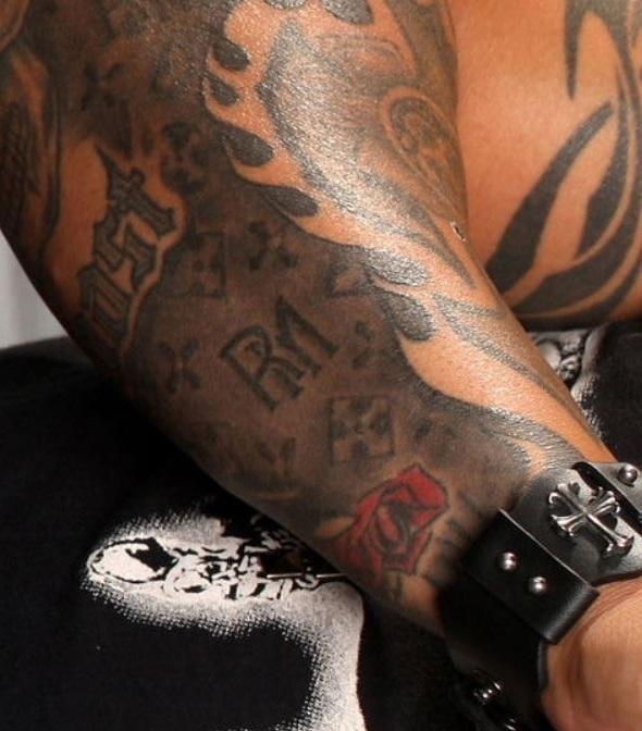 Rey right forearm Tattoo