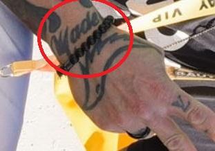 Rey right wrist word Tattoo