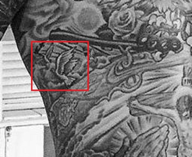 Trace Cyrus-Flying Birds Tattoo