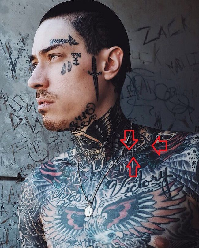 Trace Cyrus-Hollywood Tattoo