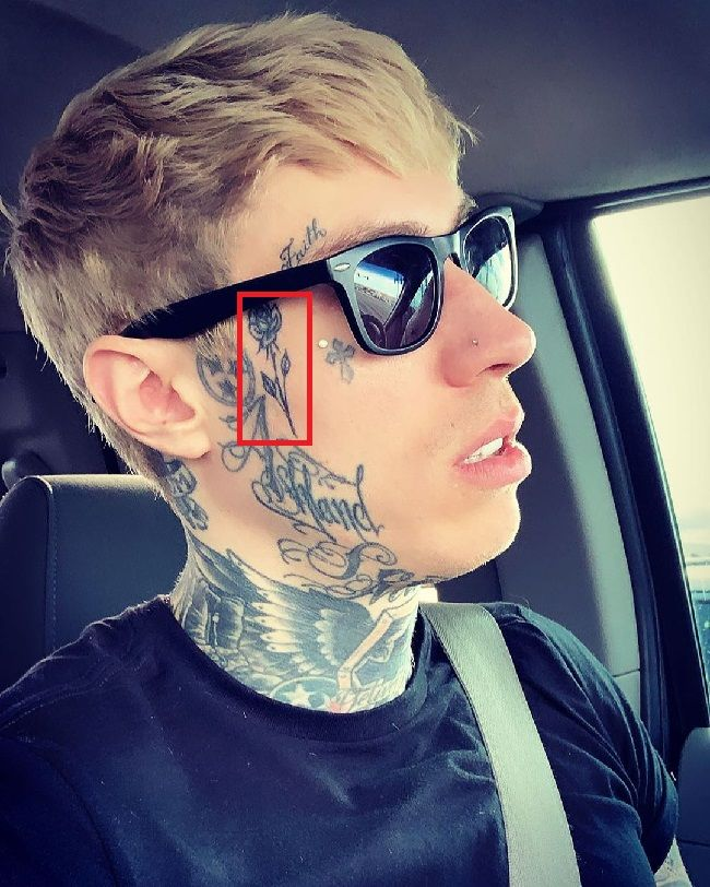Trace Cyrus-Rose Tattoo