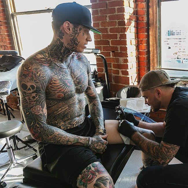 Trace Cyrus-Tattoo-Taylor