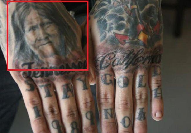 Trace Cyrus-Tattoo