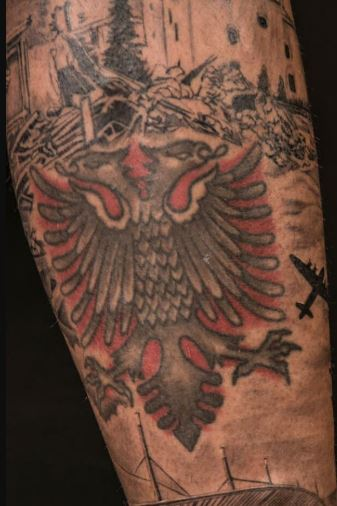 Valon eagle Tattoo