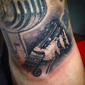 cocaine tattoo designs