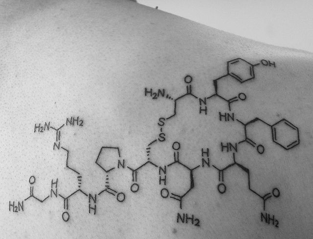 oxytocin tattoo designs
