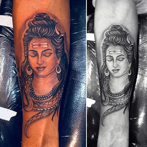 shiva tattoo