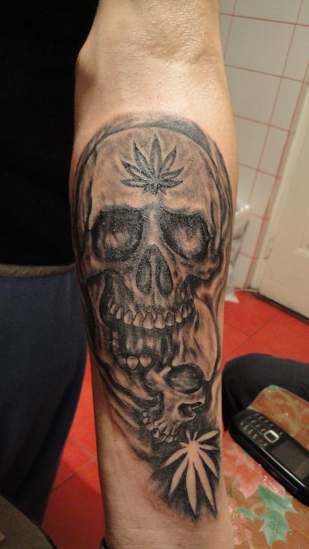 Marijuana Tattoo Designs
