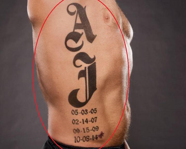 Aj Styles Tattoo
