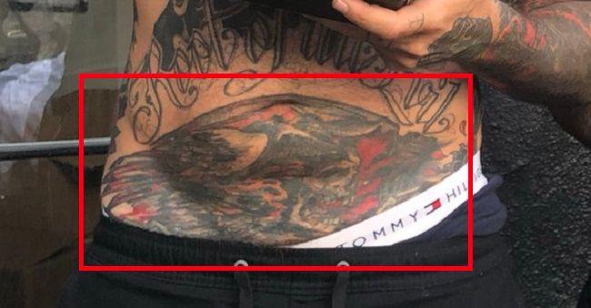 Adam22-Lower-Abdomen-tattoo