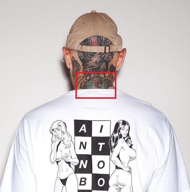 Adam22-globe-tattoo