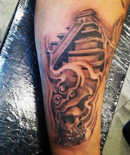 Aztec Tattoos 34