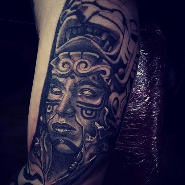 250 Amazing Aztec Tattoo Designs And Ideas Body Art Guru