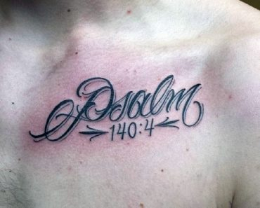 Biblical Verse Tattoo