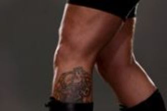 Big Show leg Tattoo