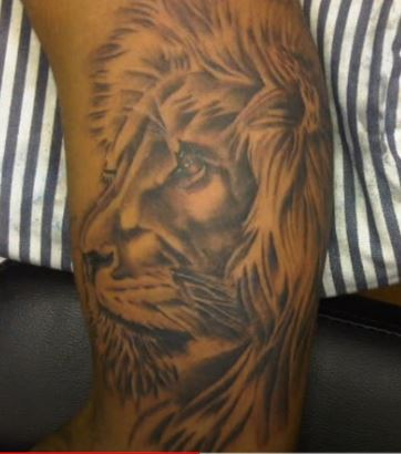 Chip Lion Tattoo