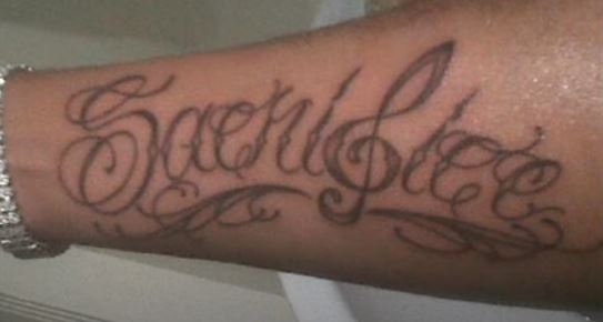 Chip Right arm writing