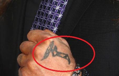 Chris Jericho Left Hand Symbol