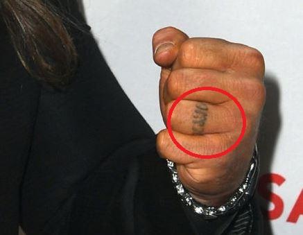 Chris finger Tattoo