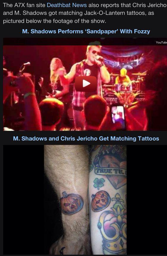 Chris pumpkin Tattoo