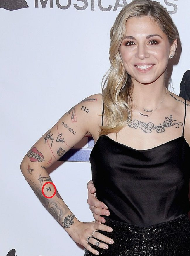 Christina Perri-M-Tattoo