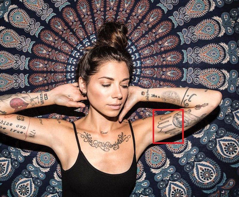 Christina Perri-Philadelphia Skyline-Tattoo