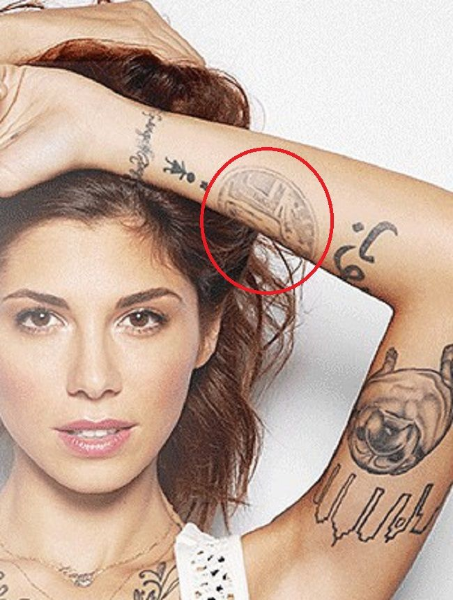 Christina Perri-Standing Liberity Quarter-Tattoo
