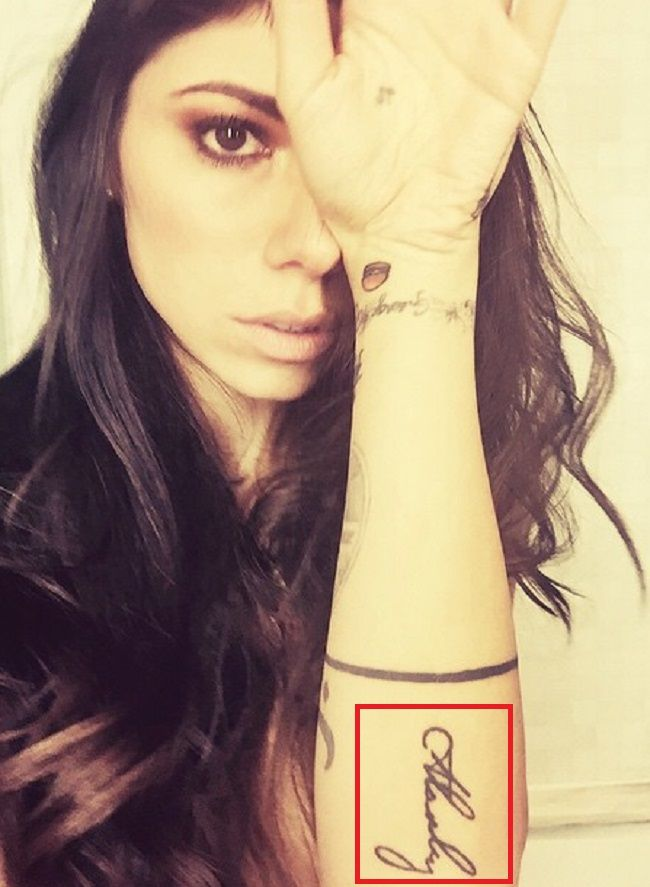 Christina Perri-Tattoo-Left Forearm