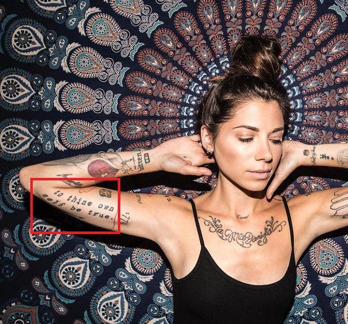 Christina Perri-to thine own self be true-tattoo
