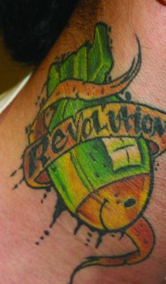 Corey Bomb Tattoo