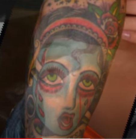 Corey Girl Tattoo