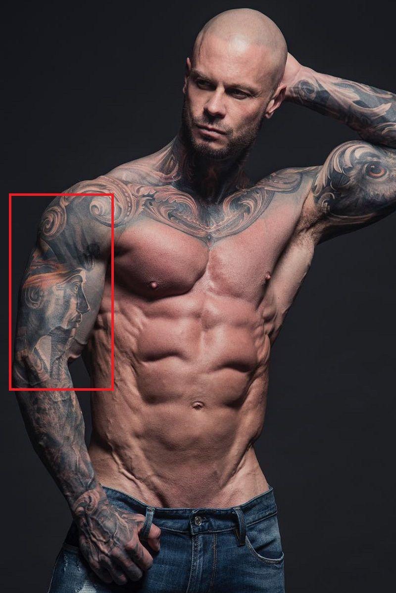 Jimmy Lewin-Egyptian Themed Tattoo