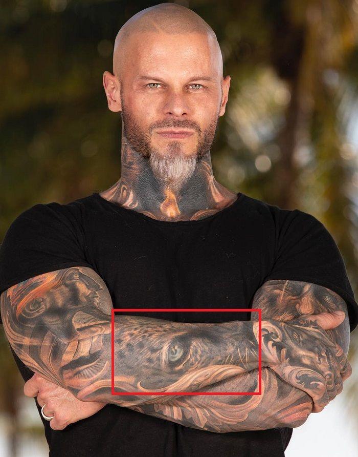 Jimmy Lewin-Leopard Tattoo
