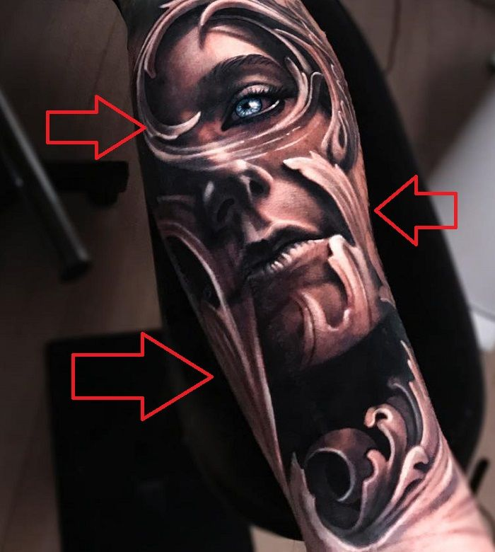 Jimmy Lewin-Tattoo on his Left Forearm