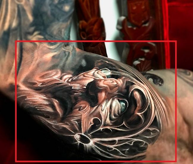 Jimmy Lewin-ZeusCathedral Morph-Tattoo