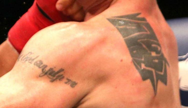 Joe Riggs quote tattoo