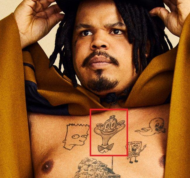 Kerwin Frost-Tattoo-Chest