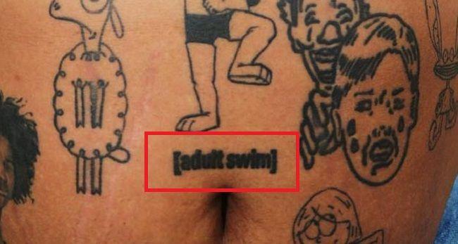Kerwin Frost-adult swim-Tattoo