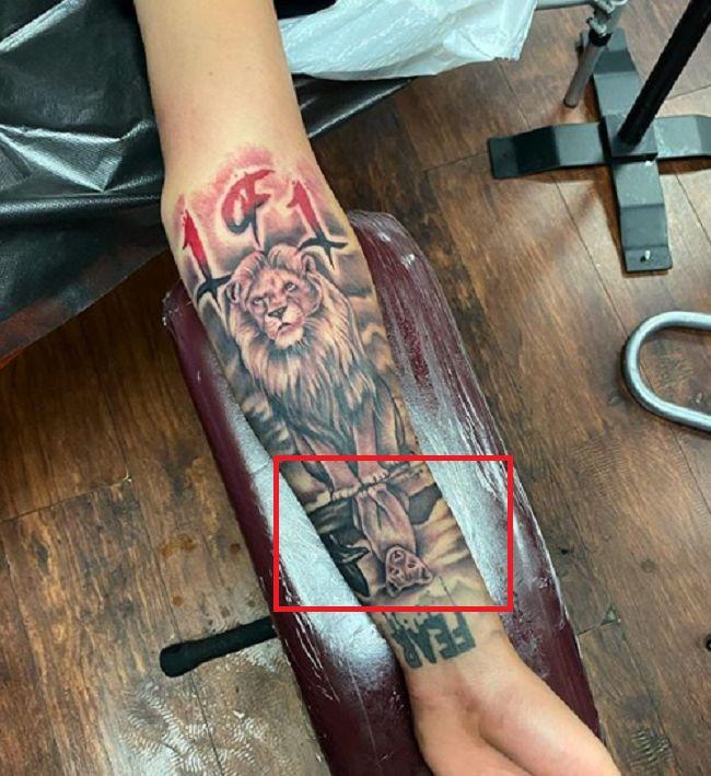 LaMelo Ball-Cub-Tattoo