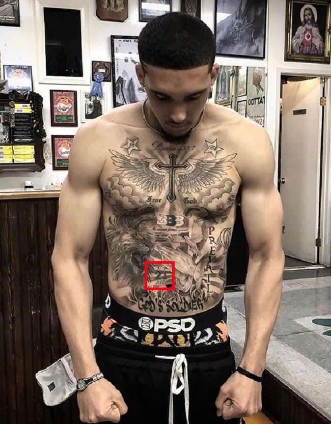 LiAngelo Ball-21 Tattoo