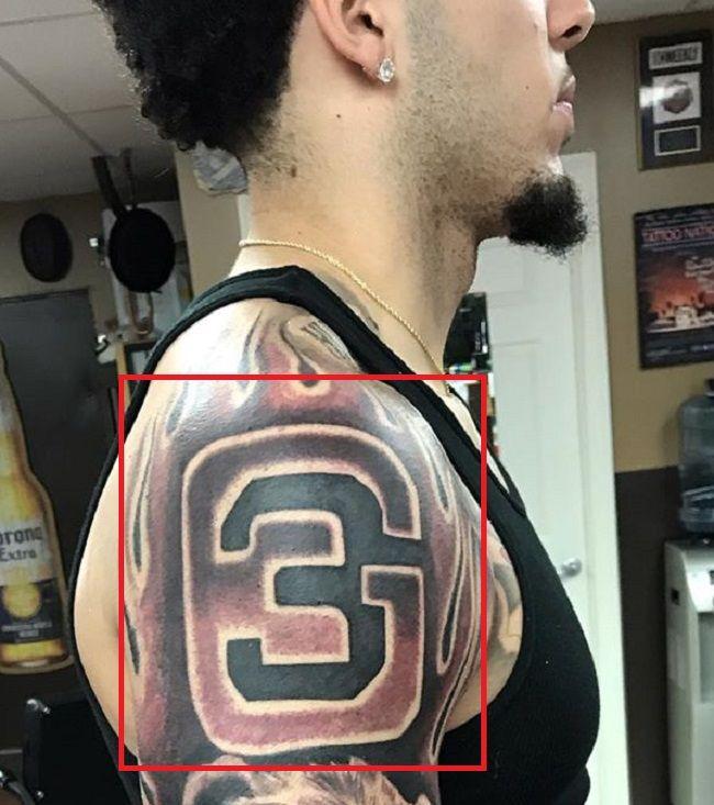 LiAngelo Ball-G3 Tattoo