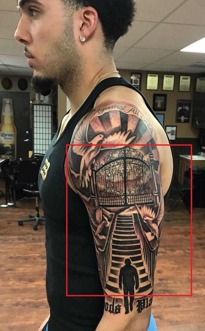 LiAngelo Ball-Gateway to Heaven Tattoo