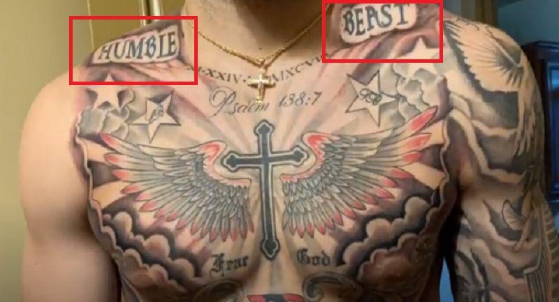 LiAngelo Ball-HUMBLE BEAST Tattoo
