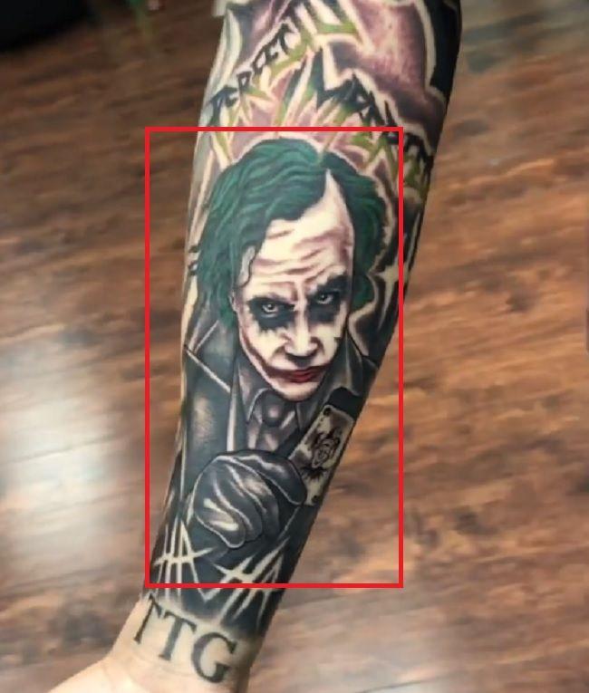 LiAngelo Ball-Joker Tattoo