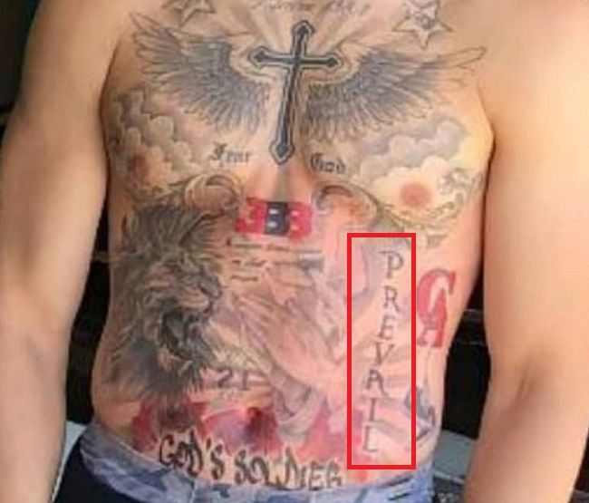 LiAngelo Ball-PREVAIL Tattoo