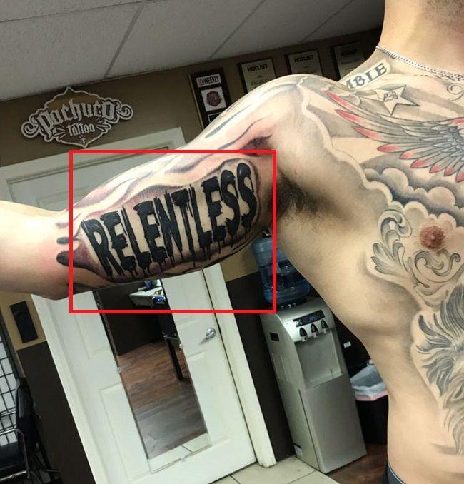 LiAngelo Ball-RELENTLESS Tattoo