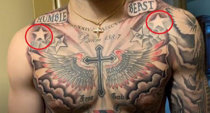 LiAngelo Ball-Stars Tattoo