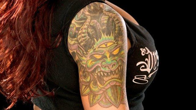 Lita Demon Tattoo